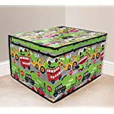 Country Club Child's / Boy's Road Works Jumbo Storage Box 50 x 30 x 40 cm