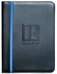 Real Estate Agent Portfolio blue