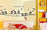 SYGA Singing birds wall sticker AY7019