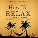 How to Relax: Stop Being Busy, Take a Break, and Get Better Results While Doing Less Audiobook by Martin Meadows Narrated by John Gagnepain
