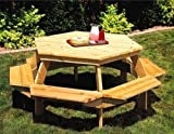 Free Picnic Table Plans - Family Picnic Table, Picnic Table