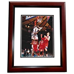 Amare Stoudemire Autographed Hand Signed New York Knicks 8x10 Photo MAHOGANY CUSTOM... by Real Deal Memorabilia