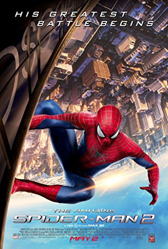 THE AMAZING SPIDERMAN 2 MOVIE POSTER 1 Sided ORIGINAL FINAL 27x40