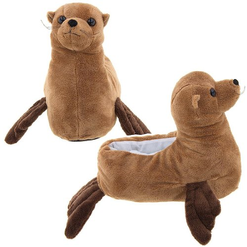 Image of Sea Lion Animal Slippers for Women (B009TH3GSI)