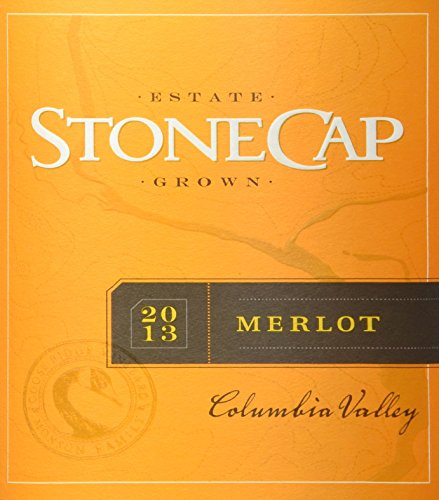 2013 Stonecap Columbia Valley Estate Grown Merlot 750 Ml