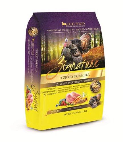 Zignature Turkey Dry Dog Food, 13.5-Pound (Cheap Grain Free Dog Food compare prices)