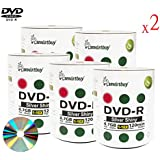 Smart Buy 1000 Pack Dvd-r 4.7gb 16x Shiny Silver Blank Data Video Movie Recordable Media Disc 1000 Disc 1000pk