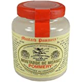 Pommery Mustard Meaux Moutarde in Pottery Crock, 3.5 oz