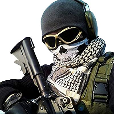 12-in-1 Headband {Camo}-Walking Man Versatile Lightweight Sports&Casual Headwea -Wear as a Bandana Neck Gaiter Balaclava Helmet Liner Mask&More.High Performance Moisture Wicking Microfiber.