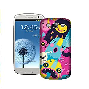 Zapcase Printed Back Case For Samsung Galaxy S3