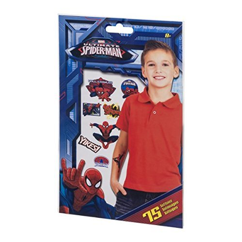 Marvel Ultimate Spider-Man Tattoos - 75 CT - 1
