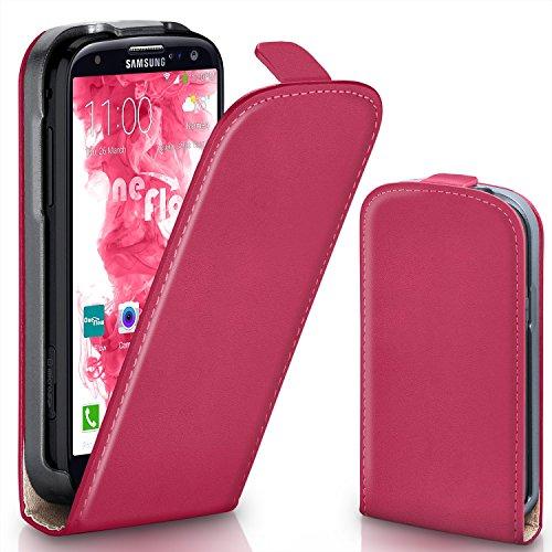 OneFlow PREMIUM - Flip-Case - per Samsung Galaxy S3 / S3 Neo - BERRY-FUCHSIA