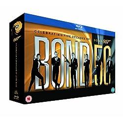 Bond 50 - James Bond - 22 Film Collection (Region Free / Region B) Blu Ray
