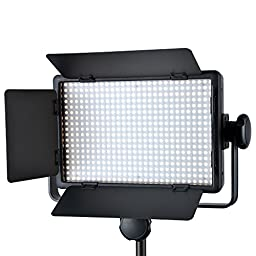Godox Professional LED500W Wireless Remote 5600¡À300K Dimmable LED Video Light for Wedding, Macrophotography, Photojournalistic and Video Recording + CEARI MicroFiber Clean Cloth