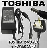 Genuine 19V 3.95A Toshiba Satellite Pro U400 Series U400-12Y, U400-11V, U400-189, U400-13T, U400-153, U400-126, U400-17O, U400-15B, U400, U400-14B, U400-22N, U400-13A, U400-127, U400-18L, U400-23X, U400-124, U400-15E, U400-217, U400-15I, U400, U400-10H,