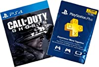 Call of Duty Ghosts Digital Bundle: Game + 1-Year PS Plus - PS4 [Digital Code] by Sony PlayStation Network