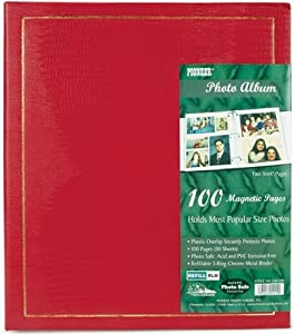 Pioneer Magnetic Page Photo Album, 10-Inch-by-11-1/2-Inch