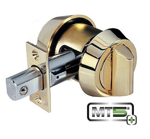 Mul-T-Lock Mt5+ Hercular Single Cylinder Deadbolt W/Thumb Turn - Oil Rubbed Bronze