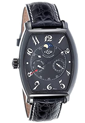 GV2 by Gevril Moonphase Mens Watch 4914L