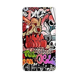 Garmor Designer Mobile Skin Sticker For Lenovo S890 - Mobile Sticker