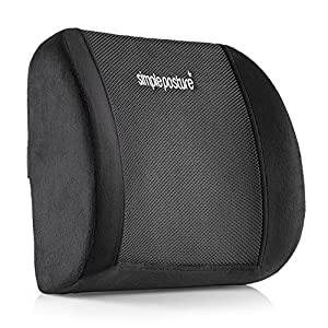 SimplePosture Lower Back Pain Relief Lumbar Support Pillow/Cushion