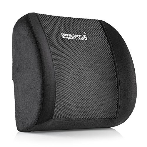 SimplePosture Lower Back Pain Relief Lumbar Support Pillow/Cushion (Lumbar Support Car compare prices)