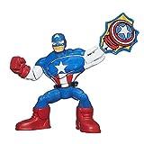 Marvel Super Hero Adventures Masters Of Kapow Captain America Figure