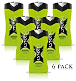 NEW 3 X LYNX RECOVER SHOWER GEL BODY WASH 250ml THREE AND SIX PACK