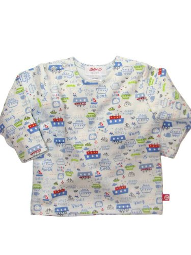Long Sleeve Little Boats T-Shirt by Zutano - Buy Long Sleeve Little Boats T-Shirt by Zutano - Purchase Long Sleeve Little Boats T-Shirt by Zutano (Zutano, Zutano Apparel, Zutano Toddler Boys Apparel, Apparel, Departments, Kids & Baby, Infants & Toddlers, Boys, Shirts & Body Suits)