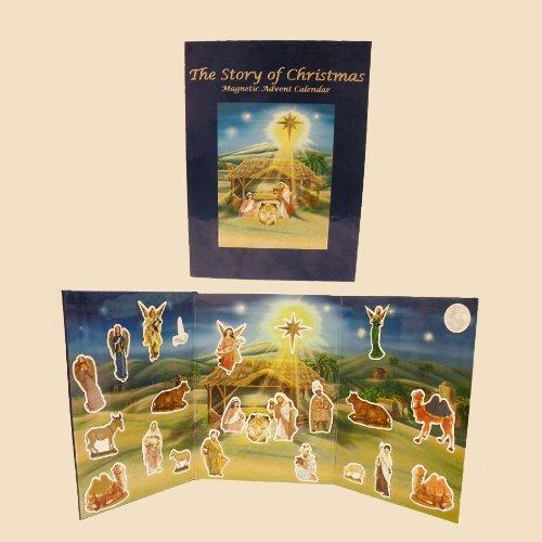 Kurt Adler 16179592 Magnetic Nativity Book Advent Calendars