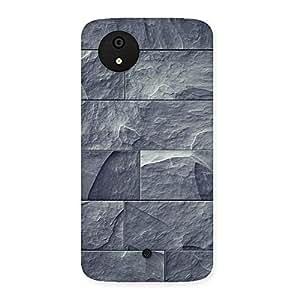 Brick Stone Back Case Cover for Micromax Canvas A1
