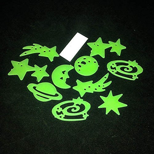 Hot New Glow In The Dark Vinyl Kids Baby Home Decor Room Wall Sticker Decals