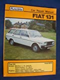 Car Repair Manual for Fiat 131 from 1975