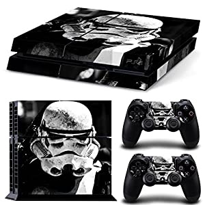 GoldenDeal PS4 Console and DualShock 4 Controller Skin Set -Star Warrior - PlayStation 4 Vinyl