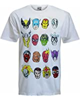 MENS AVENGERS SPIDERMAN HULK BATMAN STAR WARS COMIC BOOK RETRO SHORT SLEEVE T-SHIRT S-XL