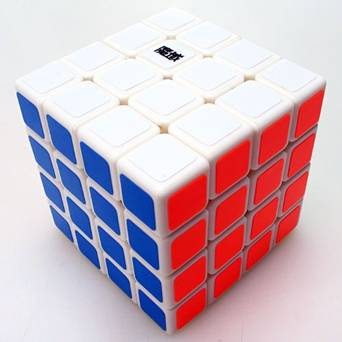 Moyu Weisu New Structure 4x4 Spped Cube White - 1