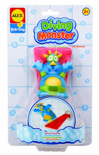 ALEX Toys Rub a Dub Diving Monster