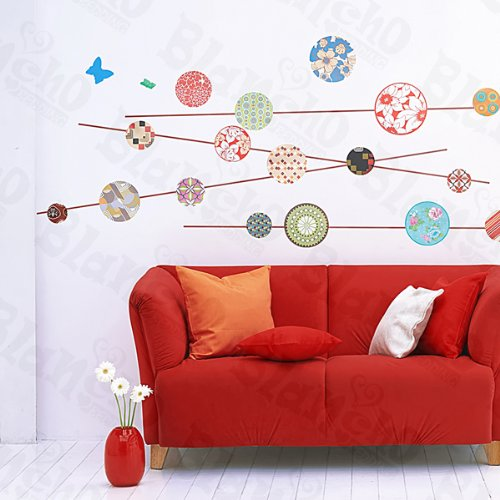 Kaleidoscope - Large Wall Decals Stickers Appliques Home Decor