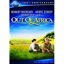 Out of Africa [DVD + Digital Copy] (Universal's 100th Anniversary)