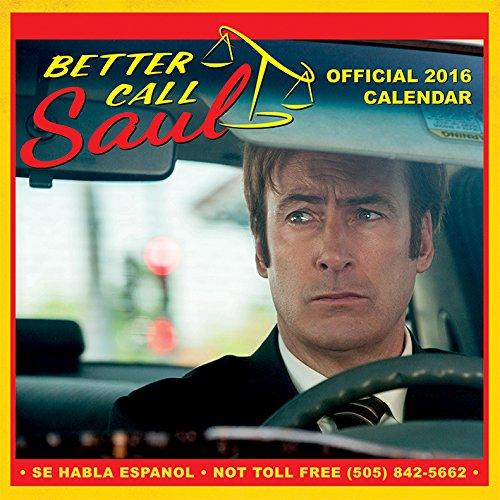 Better Call Saul 2016 Square Calendar
