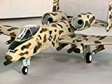 "U.S.A.F. A10 ウォートホッグ ""ジョーズ"" 1/48 スケール 飛行機 ダイキャスト模型 完成品 (ウイングスパン37cm)"