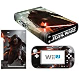 Vanknight Vinyl Decal Skin Sticker Kylo Ren for Wii U Console and Controller
