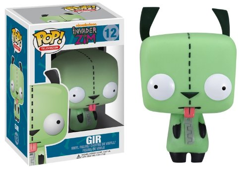 Invader Zim Pop! Television Gir Vinyl Figure #12