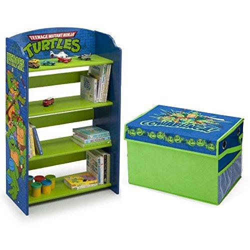 Delta-Children-Teenage-Mutant-Ninja-Turtles-Bookshelf-with-Nickelodeon-Teenage-Mutant-Ninja-Turtles-Fabric-Toy-Box-Bundle