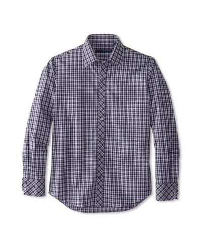 Zachary Prell Men's Soucy Checked Long Sleeve Shirt