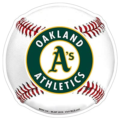 MLB Oakland Athletics 3D Baseball Magnets (Set of 2)