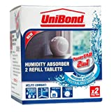 Unibond 300g Humidity Absorber Power Tab Refills (Pack of 2)