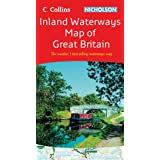 Collins/Nicholson Inland Waterways Map of Great Britain (Waterways Guides)by Collins Uk