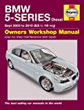 BMW 5-Series Diesel E60 & E61 Haynes Manual 2003-2010
