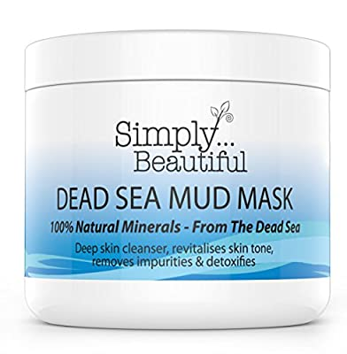 Mud Face Mask Sourced from the Dead Sea, Deep Cleansing, Purifying and Skin Rebalancing Dead Sea Mud Mask for Face - 100 Millilitre